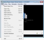 Open files, DVDs