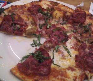 Sicilian pizza CPK