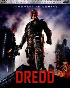 Dredd (2012) Blu-ray cover